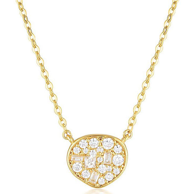 Georgini Fili Small Mosaic Gold Pendant Women's IP736G