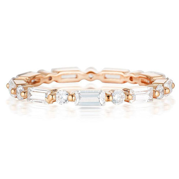 Georgini Irina Rose Gold Band Size 5 Women's IR416RG-5