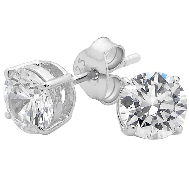 Georgini 6Mm Brilliant Stud Earring Women's LE009-6mm