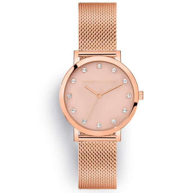 Christian Paul Deluxe Rose Gold 35 mm Women's Watches LPR3519 - Christian Paul