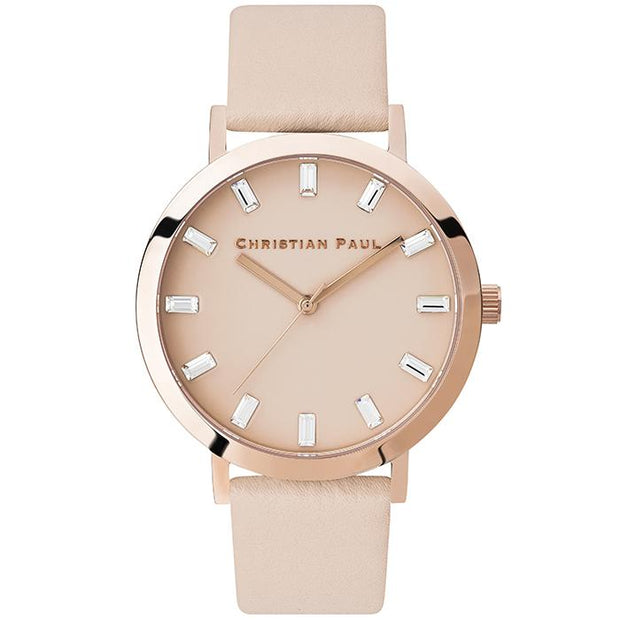 Christian Paul Luxe Deluxe Rose Gold 43 mm Women's Watches LPR4306 - Christian Paul