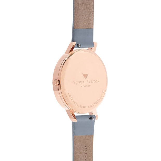 Olivia Burton Marble Florals Rose Gold 38 mm Women's Watches OB16MF10-Olivia Burton-COCOMI Australia