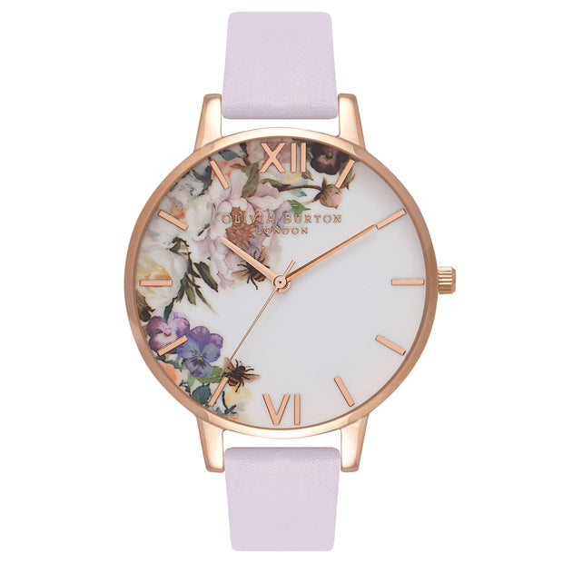 Olivia Burton Enchanted Garden PARMA VIOLET 38mm Women's Watch-COCOMI