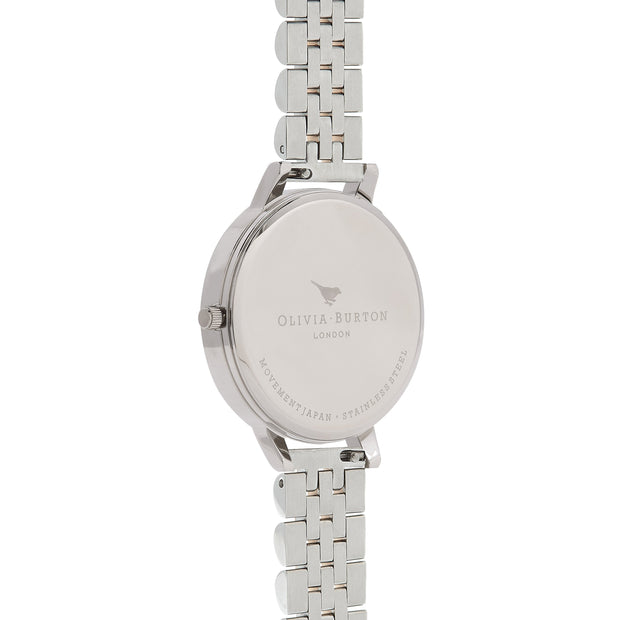 Olivia Burton 3D Bee Silver 38 mm Women's Watches OB16AM156-Olivia Burton-COCOMI Australia