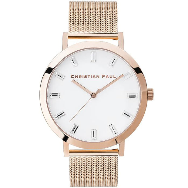 Christian Paul Angel Rose Gold 35 mm Women's Watches LWR3519 - Christian Paul