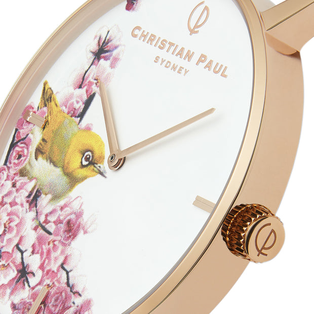 Christian Paul Silver Eye Rose Gold 43 mm Women's Watches GSR4317 - Christian Paul