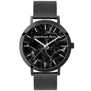 Christian Paul The Strand Black 43 mm Women's Watches MBB4318 - Christian Paul