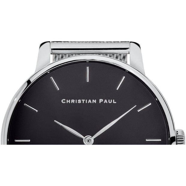 Christian Paul Sadie Silver 36 mm Women's Watches 181CBR3620 - Christian Paul