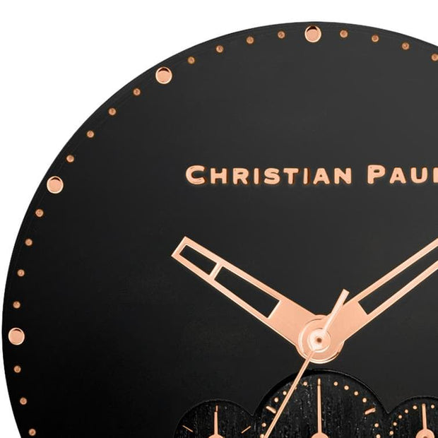 Christian Paul Tommy  Black 45 mm Men's Watches 181NWRB4528 - Christian Paul