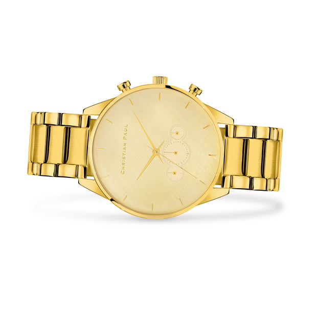 Christian Paul Curtis  Gold 45 mm Men's Watches 181SG4525 - Christian Paul