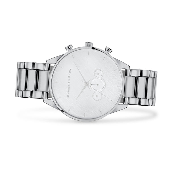 Christian Paul Cade  Silver 45 mm Men's Watches 181SS4524 - Christian Paul