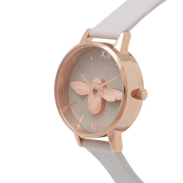 Olivia Burton 3D Bee Rose Gold 30 mm Women's Watches OB15AM77-Olivia Burton-COCOMI Australia
