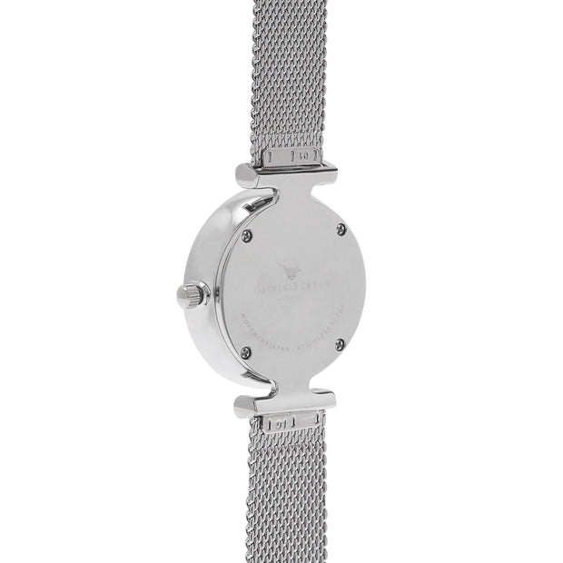 Olivia Burton Queen Bee Silver 30 mm Women's Watches OB16AM151-Olivia Burton-COCOMI Australia