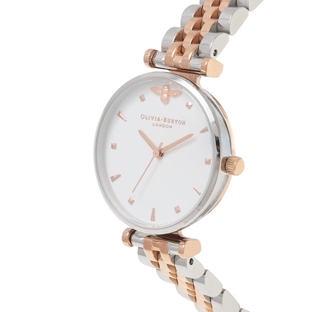 Olivia Burton Queen Bee Rose Gold 30 mm Women's Watches OB16AM93-Olivia Burton-COCOMI Australia