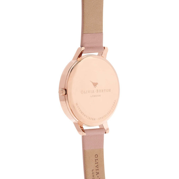 Olivia Burton Big Dial Rose Gold 38 mm Women's Watches OB16BD96-Olivia Burton-COCOMI Australia