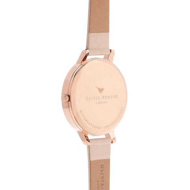 Olivia Burton White Dial Rose Gold 38 mm Women's Watches OB16BDW21-Olivia Burton-COCOMI Australia