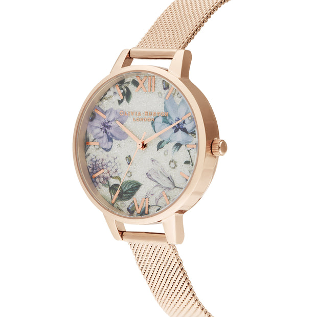 Olivia Burton Bejewelled Florals Rose Gold 34 mm Women's Watches OB16BF27-Olivia Burton-COCOMI Australia