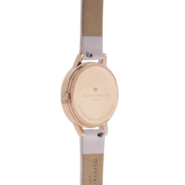 Olivia Burton White Dial Rose Gold 30 mm Women's Watches OB16MDW36-Olivia Burton-COCOMI Australia