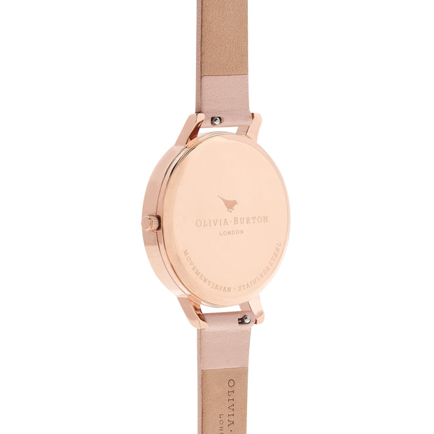 Olivia Burton Watercolour Florals Rose Gold 38 mm Women's Watches OB16PP30-Olivia Burton-COCOMI Australia