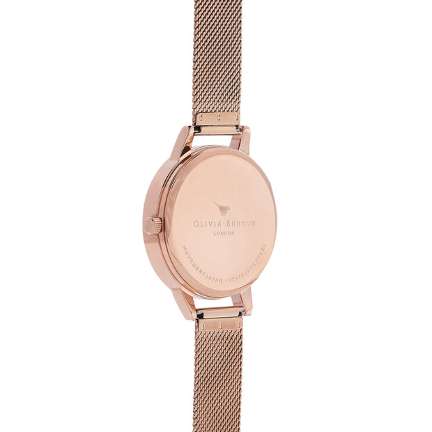 Olivia Burton Watercolour Florals ROSE GOLD Women's Watch (OB16PP39)-COCOMI