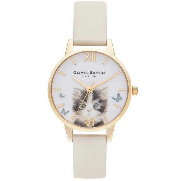 Olivia Burton Illustrated Animals Nude Women's Watch (OB16WL75)-OLIVIA BURTON-COCOMI