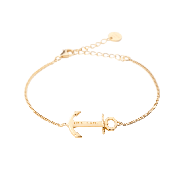 Paul Hewitt Bracelet Anchor Spirit Plated Gold One Size  (39 - 44 cm) Women's AccessoriesPH-AB-G-Paul Hewitt-COCOMI Australia