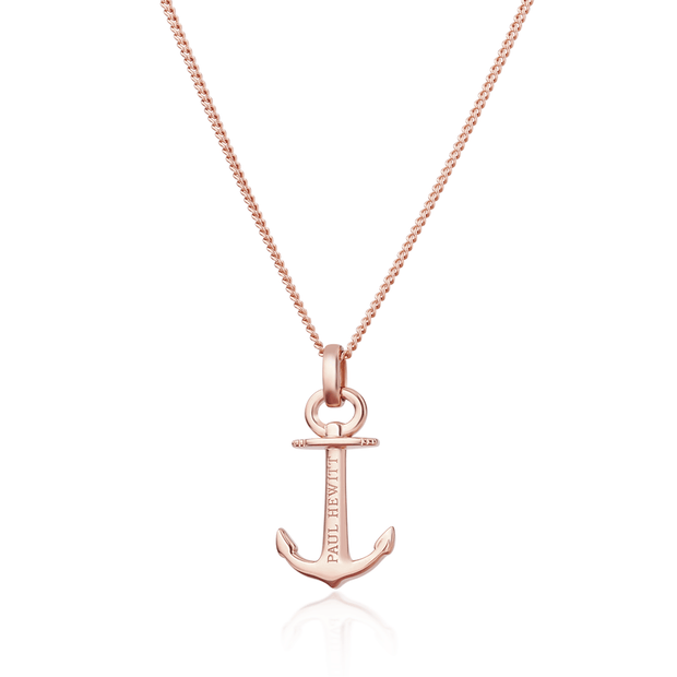 Paul Hewitt Necklace Anchor Spirit Plated Rose Gold One Size  (39 - 44 cm) Women's AccessoriesPH-AN-R-Paul Hewitt-COCOMI Australia