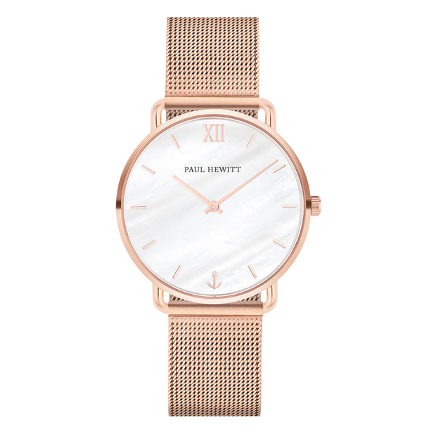 Paul Hewitt Miss Ocean Line Rose Gold 33 mm Women's Watches PH-M-R-P-4S-Paul Hewitt-COCOMI Australia