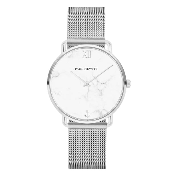 Paul Hewitt Miss Ocean Line Silver 33 mm Women's Watches PH-M-S-M-4S-Paul Hewitt-COCOMI Australia