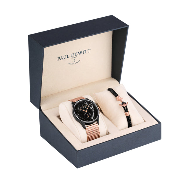 Paul Hewitt Perfect Match Black 36 mm Unisex Watches PH-PM-3-M-Paul Hewitt-COCOMI Australia