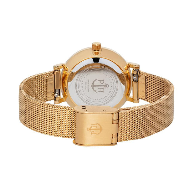 Paul Hewitt Sailor Line Gold 28 mm Women's Watches PH-SA-G-XS-B-45S-Paul Hewitt-COCOMI Australia