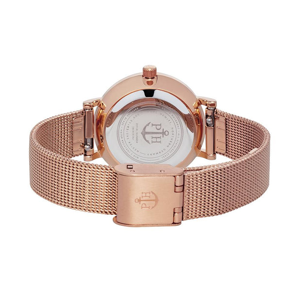 Paul Hewitt Sailor Line Rose Gold 28 mm Women's Watches PH-SA-R-XS-B-45S-Paul Hewitt-COCOMI Australia