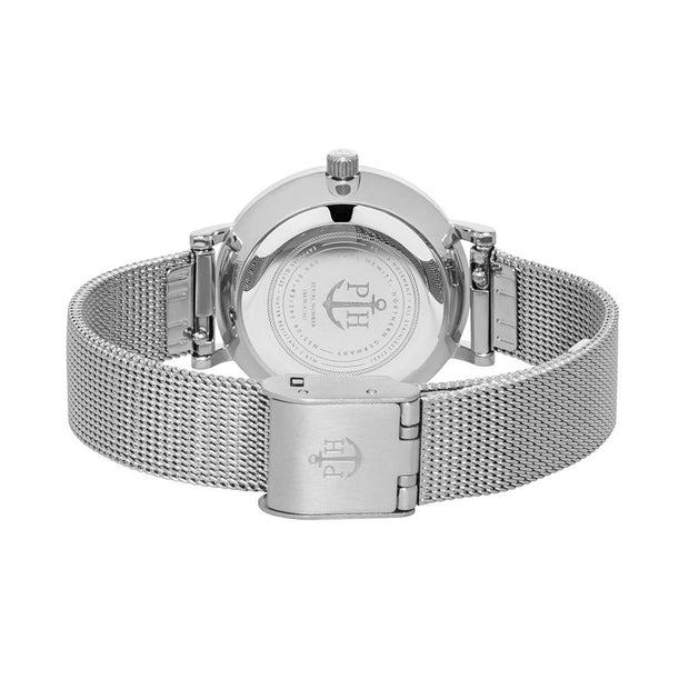 Paul Hewitt Sailor Line Silver 28 mm Women's Watches PH-SA-S-XS-B-45S-Paul Hewitt-COCOMI Australia