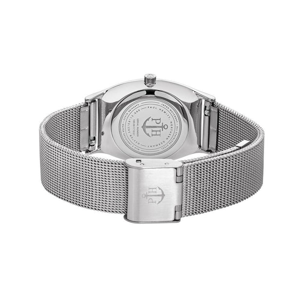 Paul Hewitt Modern Edge Line Silver 30 mm Women's Watches PH-T-S-BS-4S-Paul Hewitt-COCOMI Australia