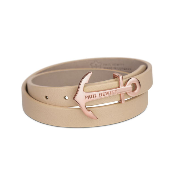 Paul Hewitt Wrap Bracelet North Bound IP Rose Gold Hazelnut 37.5 cm Unisex's AccessoriesPH-WB-R-22S-Paul Hewitt-COCOMI Australia