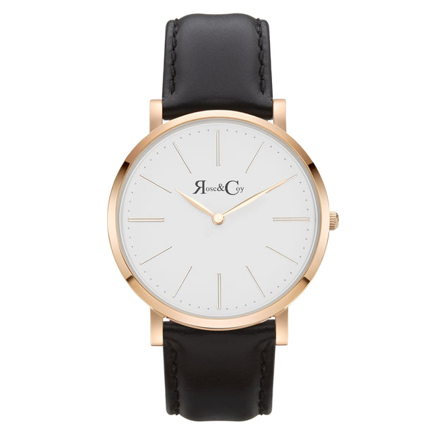 Rose & Coy Pinnacle Rose Gold 40mm Unisex's Watches RC0101