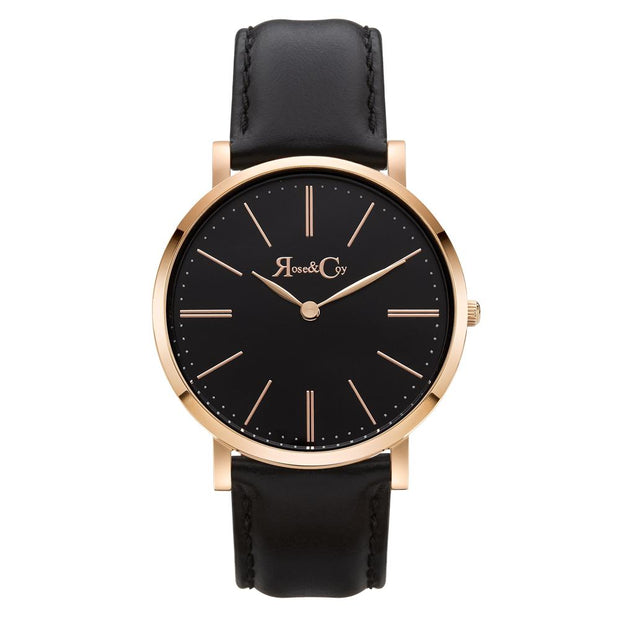 Rose & Coy Pinnacle Rose Gold 40mm Unisex's Watches RC0103