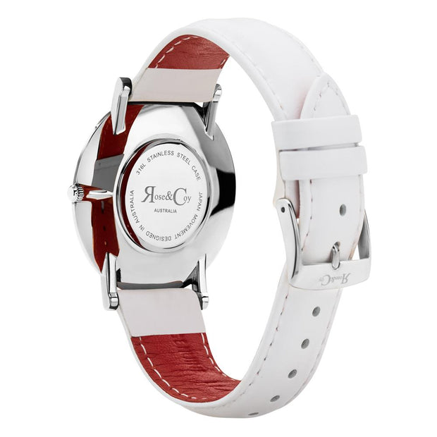 Rose & Coy Pinnacle Silver 40mm Men's Watches RC0202-Rose&Coy-COCOMI Australia