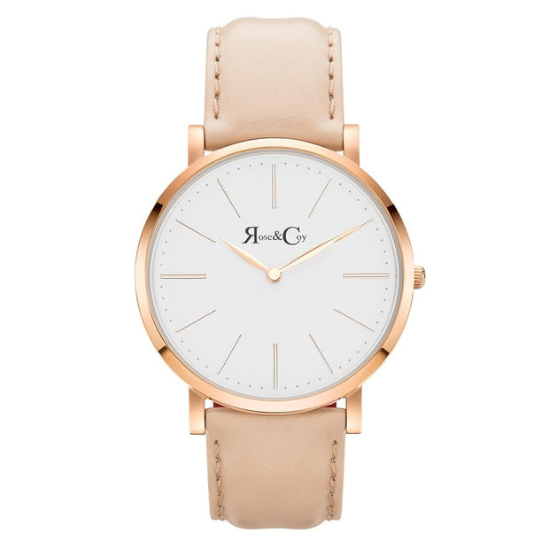 Rose & Coy Pinnacle Rose Gold 40mm Unisex's Watches RC0301