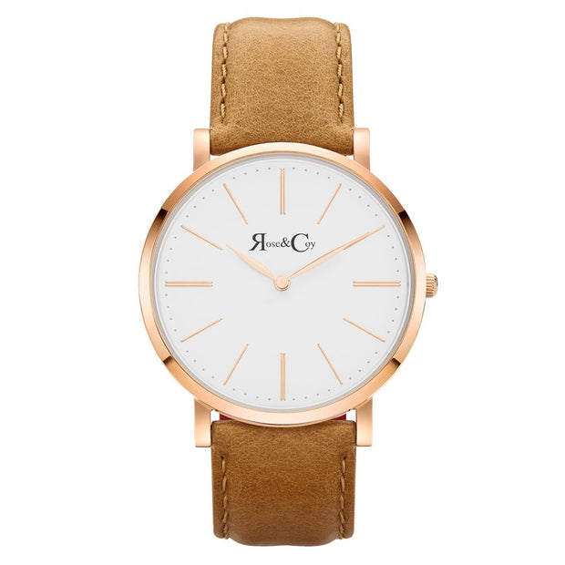 Rose & Coy Pinnacle Rose Gold 40mm Unisex's Watches RC0401