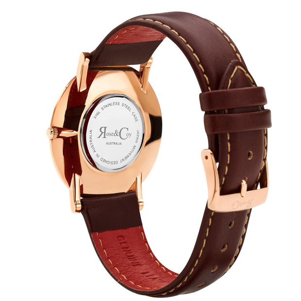 Rose & Coy Pinnacle Rose Gold 40mm Women's Watches RC0601-Rose&Coy-COCOMI Australia