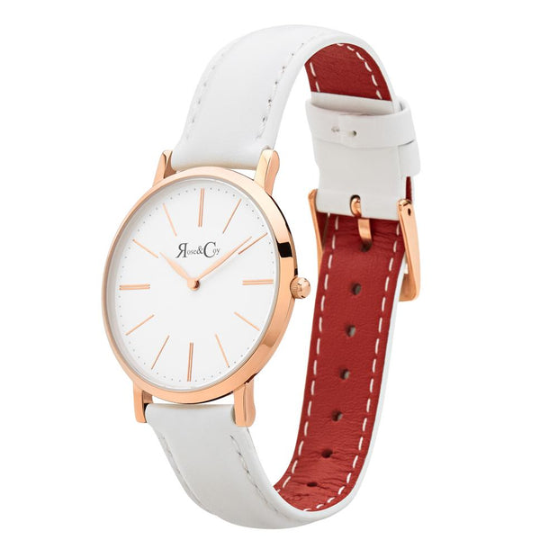 Rose & Coy Mini Pinnacle Rose Gold 34mm Women's Watches RCM0201-Rose&Coy-COCOMI Australia