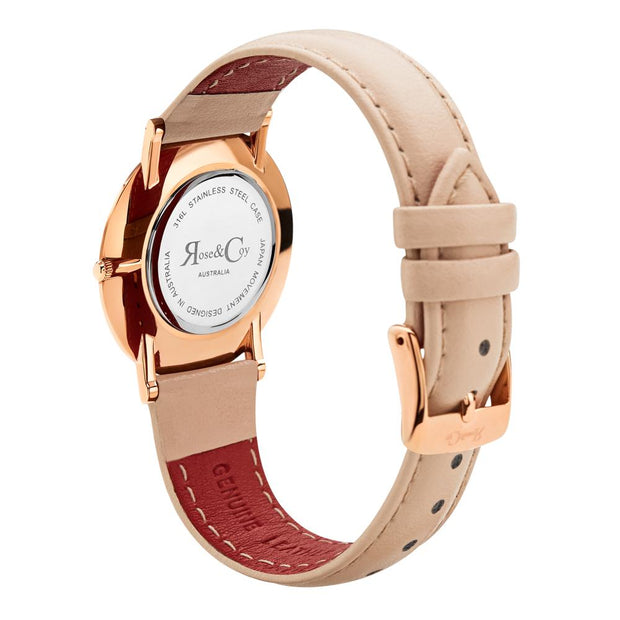 Rose & Coy Mini Pinnacle Rose Gold 34mm Women's Watches RCM0301-Rose&Coy-COCOMI Australia