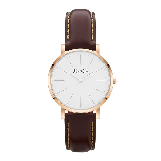 Rose & Coy Mini Pinnacle Rose Gold 34mm Women's Watches RCM0601-Rose&Coy-COCOMI Australia