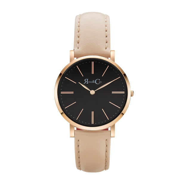 Rose & Coy Mini Pinnacle Rose Gold 34mm Women's Watches RCM0603-Rose&Coy-COCOMI Australia