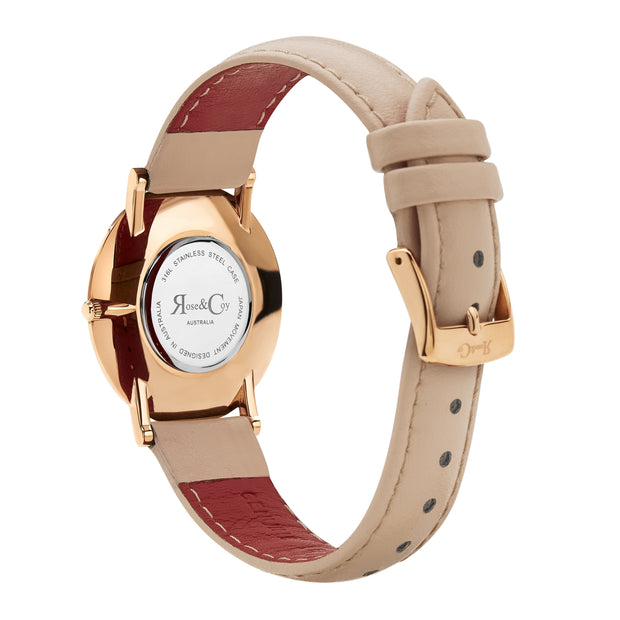 Rose & Coy Mini Pinnacle Rose Gold 34mm Unisex's Watches RCM0603
