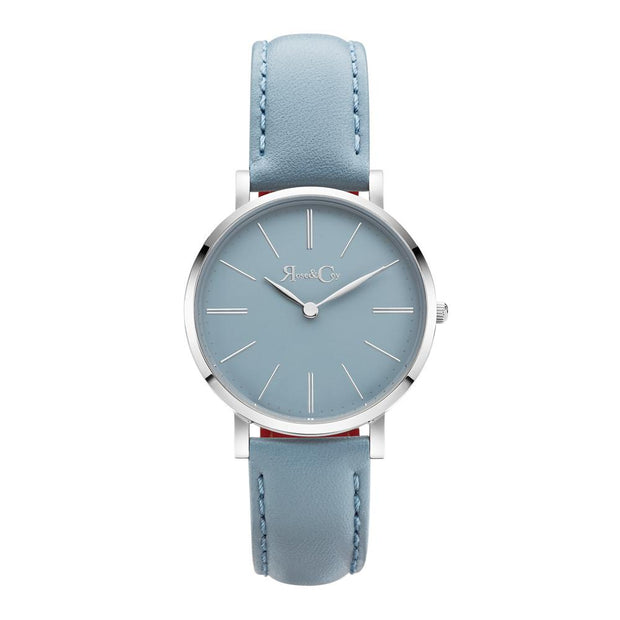Rose & Coy Mini Pinnacle Silver 34mm Unisex's Watches RCM0801
