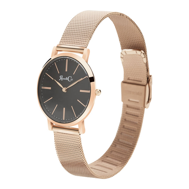 Rose & Coy Mini Pinnacle Rose Gold 34mm Women's Watches RCM0903-Rose&Coy-COCOMI Australia