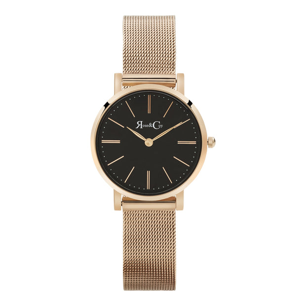 Rose & Coy Petite Pinnacle Rose Gold 30mm Women's Watches RCP0903-Rose&Coy-COCOMI Australia