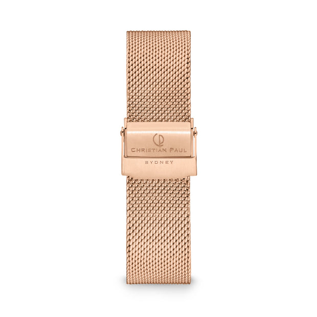 Christian Paul Olive  Rose Gold 40 mm  Women's Watches 181PFR4019 - Christian Paul
